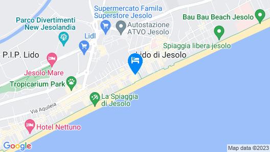 Hotel Orizzonte Map