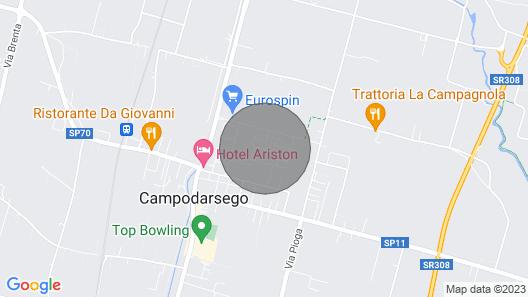 Saint 'antony: Luxurious App. for Holidays Near Padua and Venice Wifi, A / C., P Map