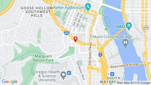 SureStay Hotel by Best Western Portland City Center Map