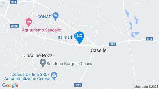 Hotel La Corte Map