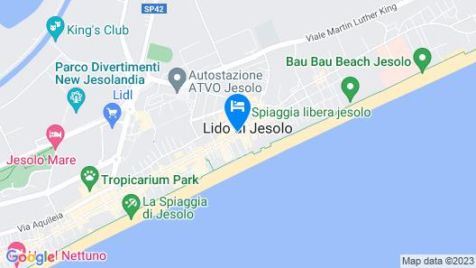 Hotel Al Mare Map