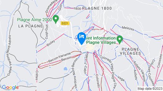 ho36 La Plagne Map