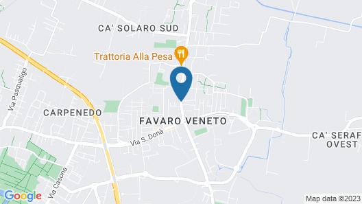 Hotel Altieri Map