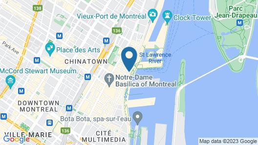 Lofts du Vieux-Port Map