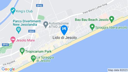Hotel Rosa Map