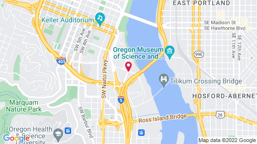 Residence Inn by Marriott Portland Downtown/RiverPlace Map