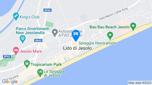 Hesperia Hotel & Residence Map