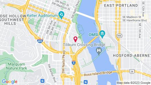 Hyatt House Portland/Downtown Map