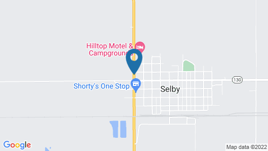 Selby Motel Map