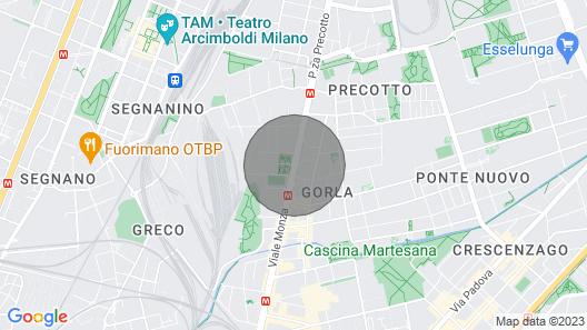 My House of Milan 19 Map