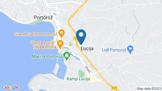 Apartment Kalin Map