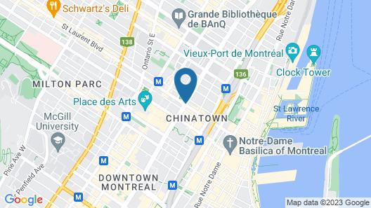 Hotel Zero 1 Map