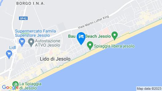 Hotel Villa Eugenia Map