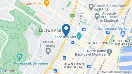 Casa Bella Hotel Map