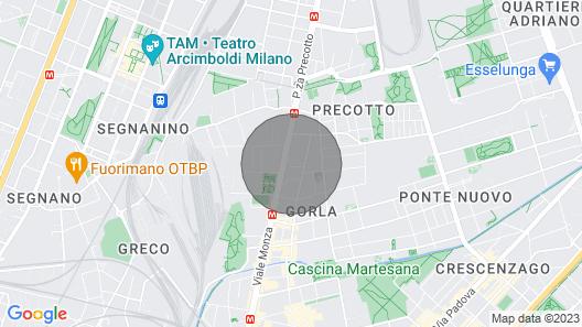 Casa Vacanze Amato in Milan Map