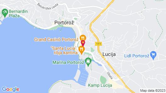 Remisens Premium Hotel Metropol Map