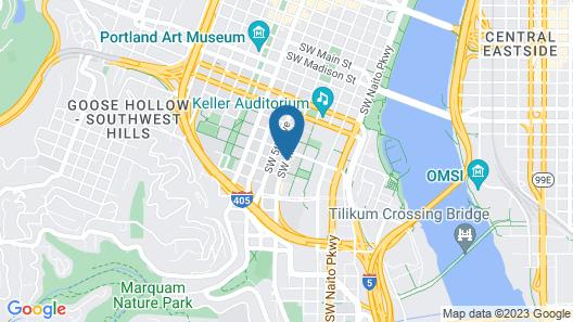 Econo Lodge Portland City Center Map