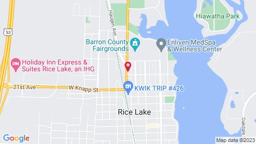 Pullman Motel Map
