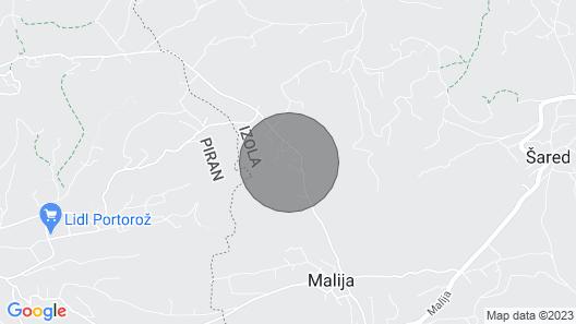3 Bedroom Accommodation in Izola Map