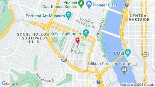 Downtown Value Inn Map