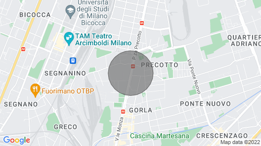 Casa Lulù - Romantic & Smart Stay in Milan Map