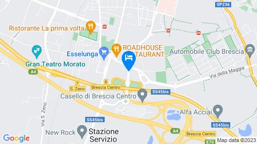 Primotel Brescia Map
