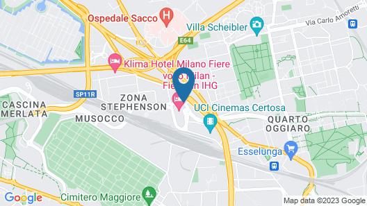 Barceló Milan Map