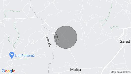 1 Bedroom Accommodation in Izola Map