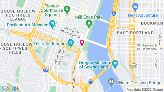 Portland Marriott Downtown Waterfront Map
