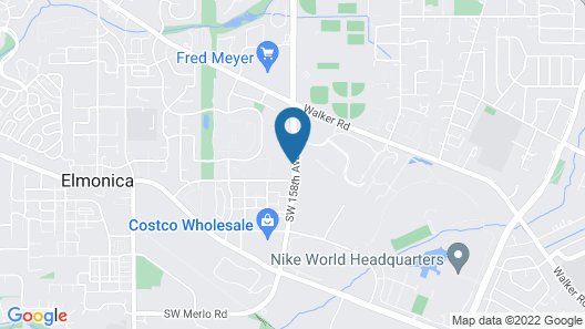Extended Stay America Suites Portland Beaverton Map