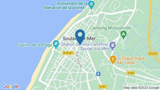 La Dame de Cœur Map