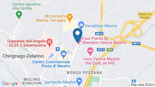 Four Points by Sheraton Venice Mestre Map