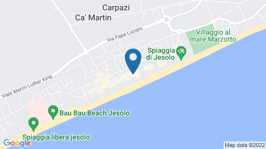 Hotel Tropical Map