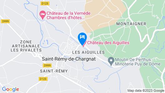 Château des Aiguilles Map