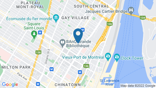 M Montreal Map