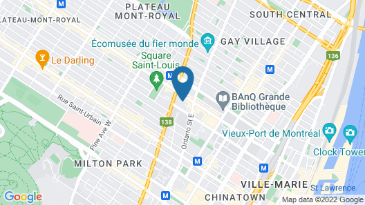 Loft Hotel Map