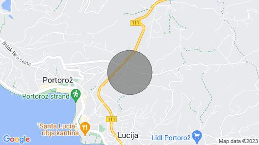 3 Bedroom Accommodation in Portoroz Map