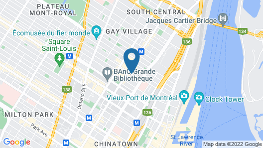 Hotel St André Map