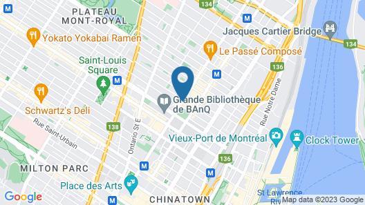 Auberge Le Pomerol Map