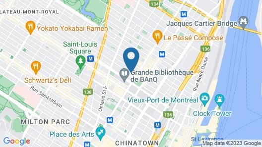 Samesun Montreal Central Map