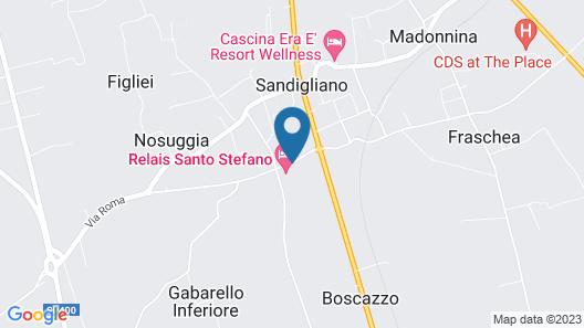 Santo Stefano SPA Relais Map