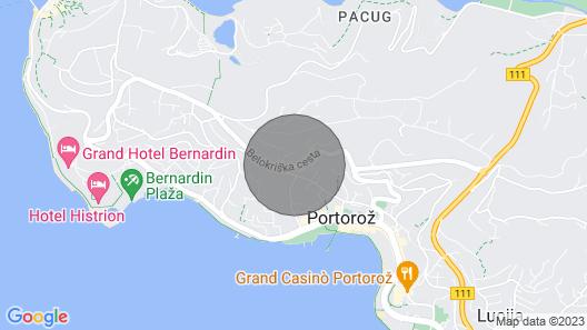 2 Bedroom Accommodation in Portoroz Map