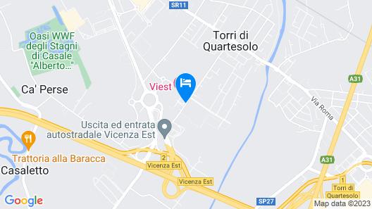 Viest Hotel Map