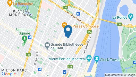 Bed and Breakfast du Village - BBV Map