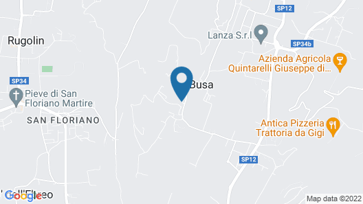 Hotel Villa Moron Map