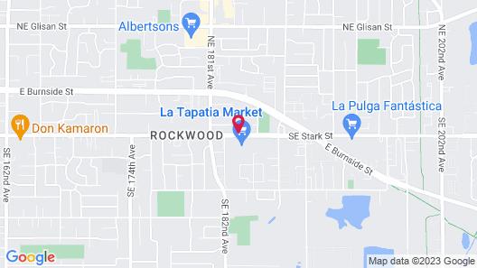 Motel 6 Portland, OR - Gresham Map