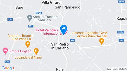 Hotel Valpolicella International Map