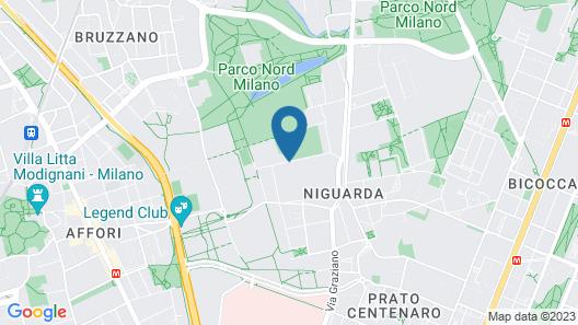 Centro Siloe Residence Hotel Map
