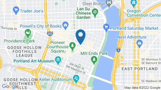 Royal Sonesta Portland Map