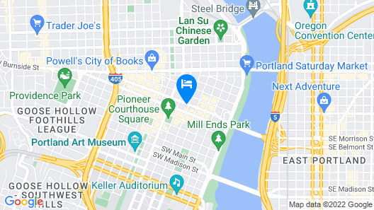 Royal Sonesta Portland Map
